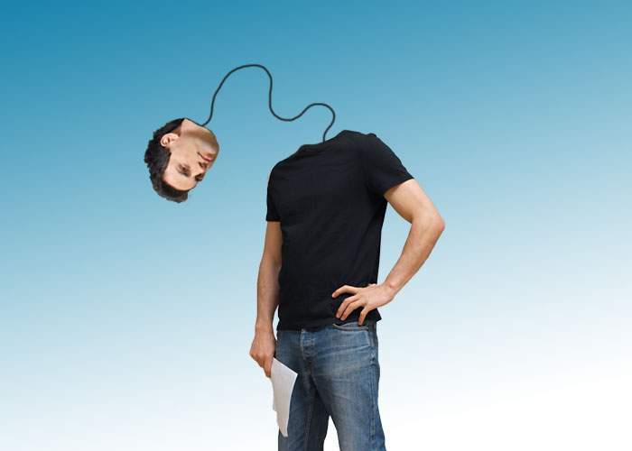 I se spune omul-kendama! Un român are capul legat cu un şnur de restul corpului