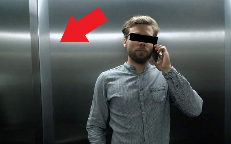 """Omul invizibil, apel la decenţă: """"Nu vă mai băşiţi în lift lângă mine!"""""""
