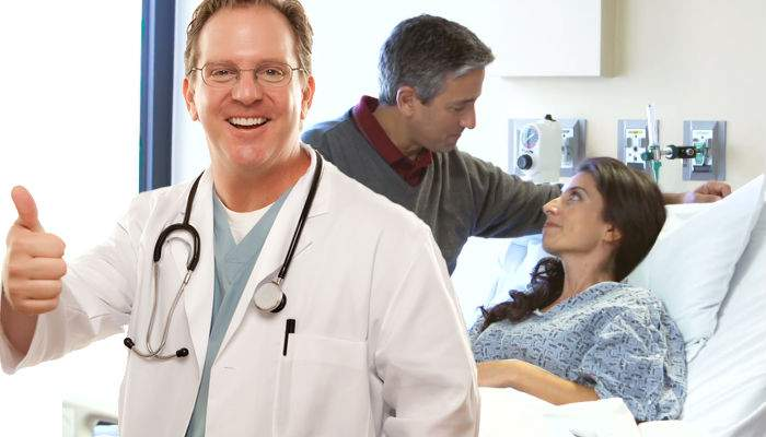 Intervenţie complexă! Medicii au reuşit să-i scoată unei femei din creier numărul de card al soţului