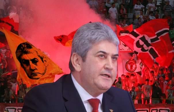 UNPR a închiriat din nou galeria lui Dinamo, ca să facă un miting de susținere pentru Gabriel Oprea