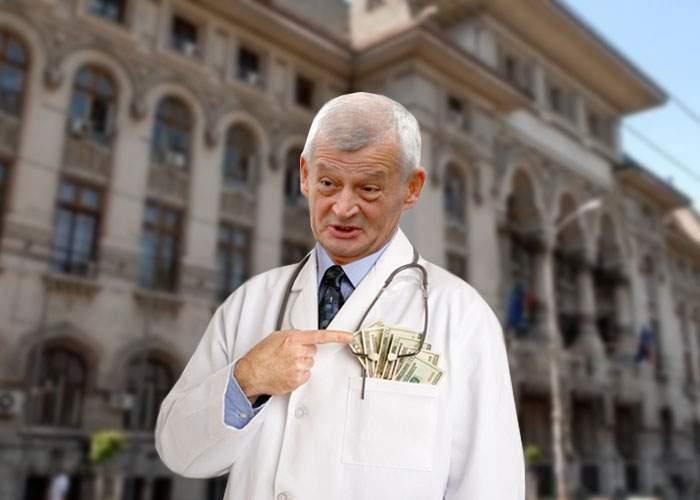 Sorin Oprescu îşi acuză colegii că sunt lacomi: Şi eu sunt medic şi mă descurc cu cât câştig