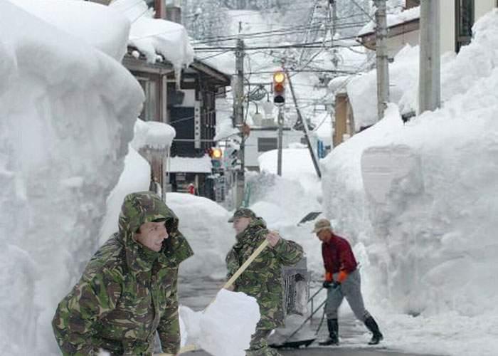 Noul Guvern PSD linişteşte populaţia: Avem competenţa să furăm toată zăpada căzută în ţară!