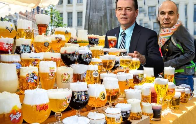 Vizita la Bruxelles, un succes! Orban a degustat 348 de tipuri de bere belgiană