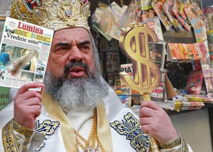 Ortodoxie glossy. Doar weekendul ăsta ziarul Lumina vine la insert cu un deget al Sf. Arsenie Boca