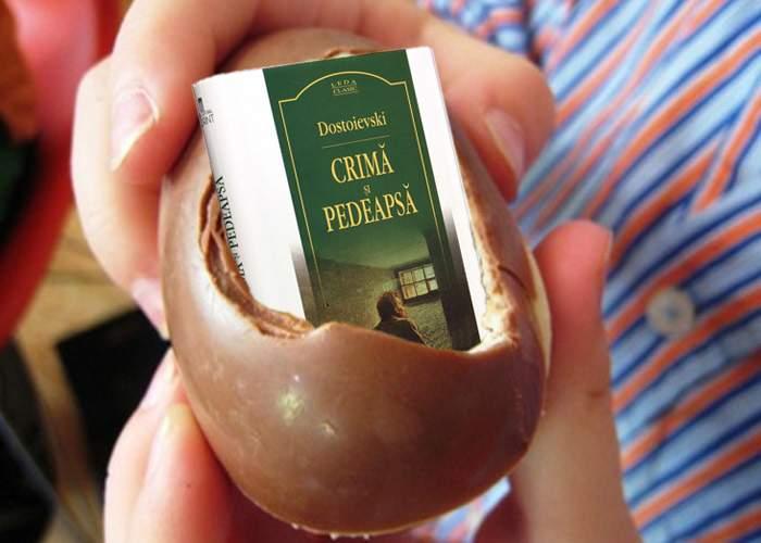 Marian Vanghelie reclamă ouăle Kinder la OPC: a găsit într-unul dintre ele o carte
