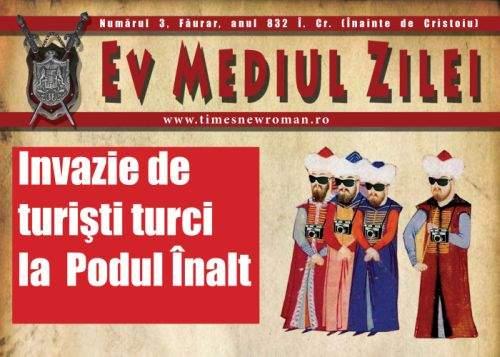 TNR lansează Ev Mediul Zilei, cel mai citit tabloid din perioada medievală