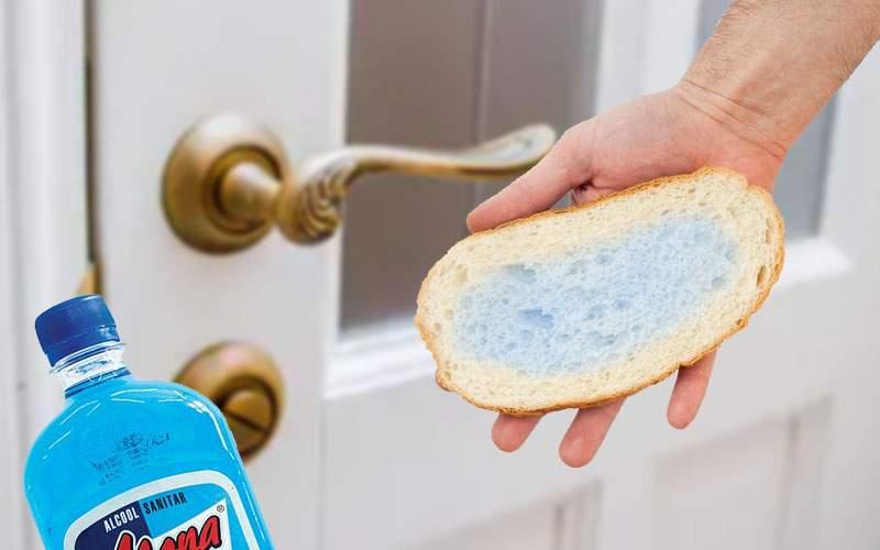 Sfat util din Vaslui: după ce tragi spirtul prin pâine, foloseşte-o să ştergi clanţele