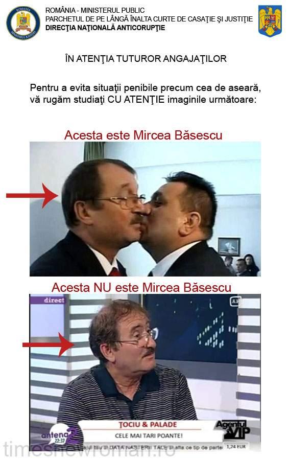Poza zilei: Gafă jenantă în cazul Mircea Băsescu! Angajaţii DNA au fost aspru mustraţi