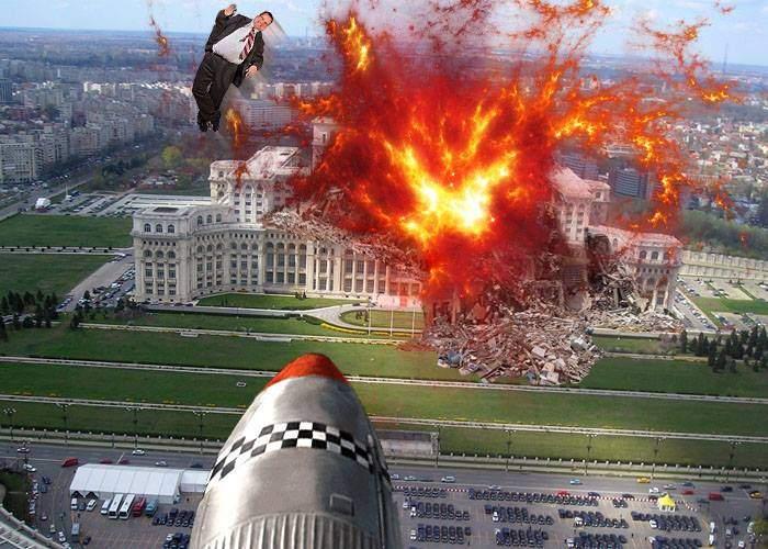 Scutul își face treaba! Abia pus în funcțiune, a distrus o mare amenințare: Palatul Parlamentului
