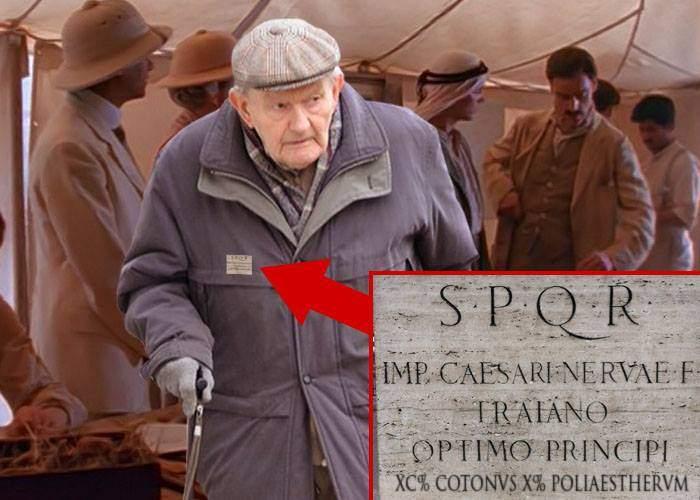 Un pensionar are un palton atât de vechi, că s-a dus la arheolog să-i schimbe un nasture