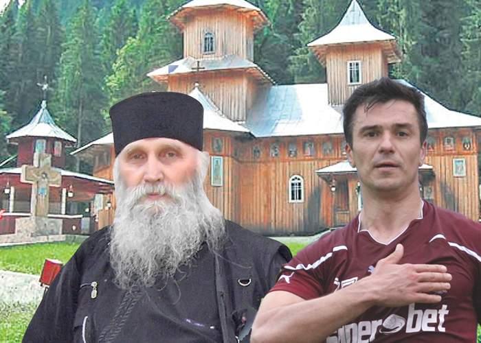 Sihăstria Rarăului s-a pomenit cu jucătorii de la Rapid la poartă: Au auzit că se dă de mâncare!