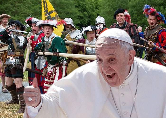 Papa, mulțumit de vizită. Ne trimite cei 6000 de mercenari promiși lui Ștefan cel Mare