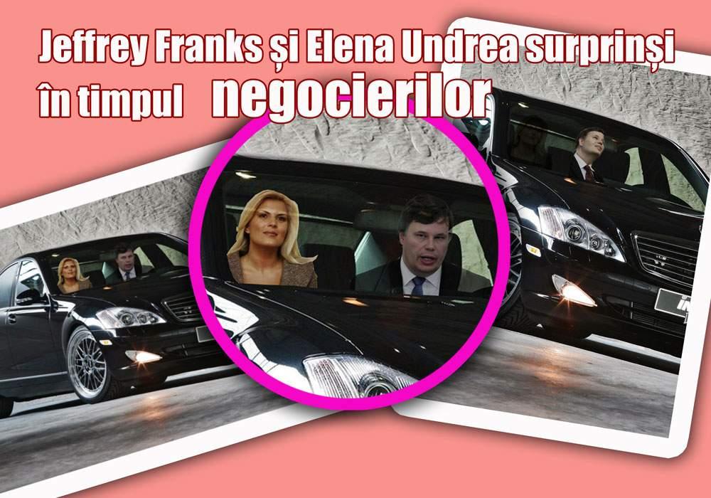 Elena Udrea, suprinsă de paparazzi în compania şefului FMI