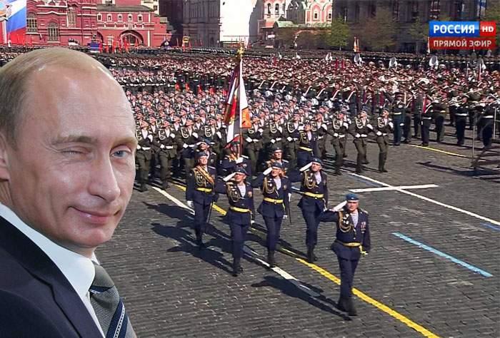 Paradă militară de 9 Mai în Rusia! Traficul va fi blocat pe ruta Piaţa Roşie – Chişinău – Bucureşti