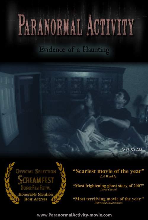 Paranormal Activity – portret de cuplu cu fantomă invizibilă