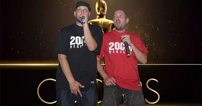 Cheloo şi Ombladon, felicitaţi după ce filmul Paraziţii a luat 4 premii Oscar