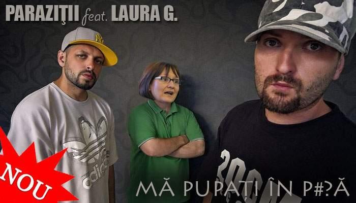 """Laura Georgescu va scoate un album împreună cu Paraziții: """"Mă pupați în p…ă"""""""