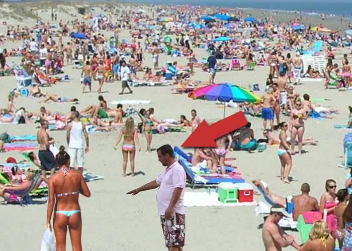 """Plajele aglomerate s-au umplut de parcagii de cearşafuri! """"Dacă nu le dai bani, ţi-l şifonează"""""""