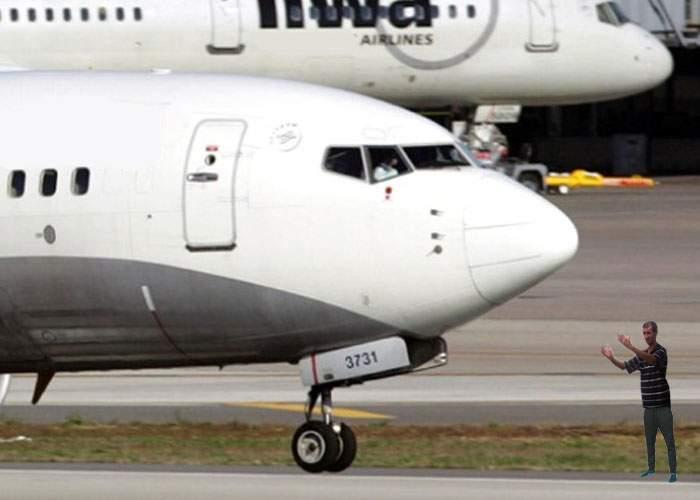 Scandal la Otopeni! Un pilot şi-a găsit avionul zgâriat fiindcă nu i-a dat nimic parcagiului