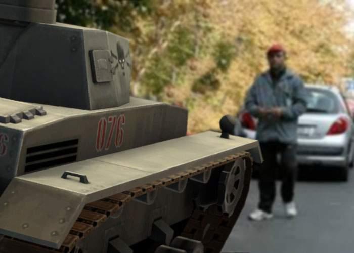Invazie respinsă cu succes! Tancurile ruseşti nu au putut ocupa Bucureştiul din cauza parcagiilor
