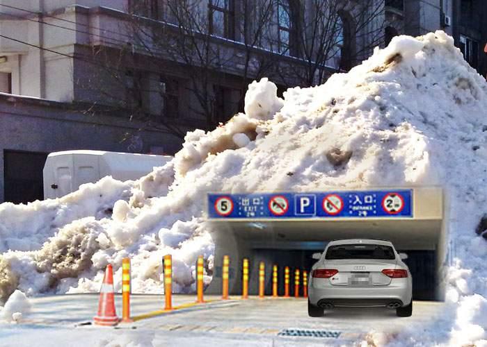 A găsit soluţia! Oprescu va construi parcări subterane sub nămeţi