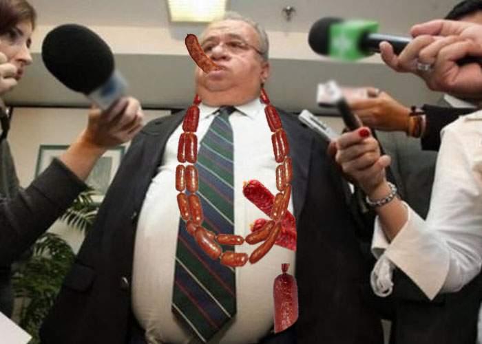 Îşi testează noua imunitate! Parlamentarii PSD au furat azi cârnaţii din mii de afumători