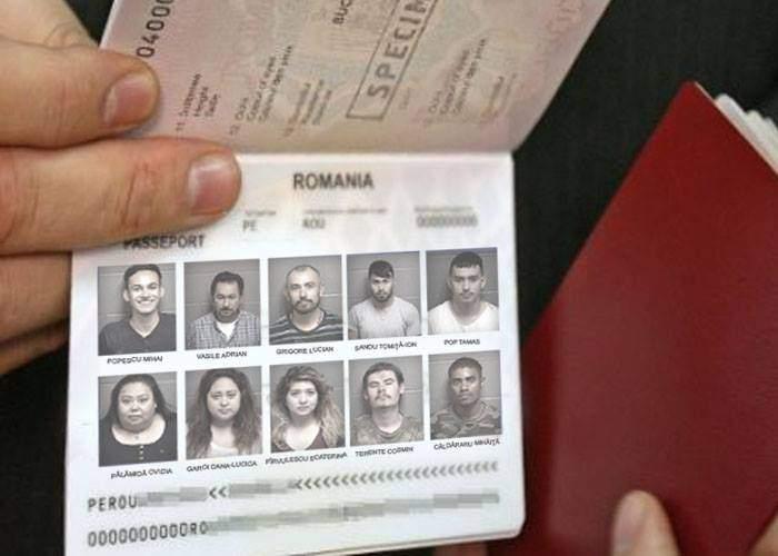 Pentru a reduce cozile la paşapoarte, vor fi trecuţi câte 10 români pe un paşaport, cu poză de grup