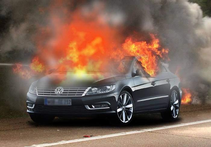 Studiu. Singura metodă prin care un Volkswagen poate scoate mai mult fum e să-i dai foc