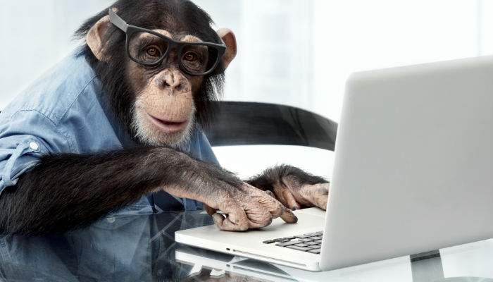 Un genetician român a sintetizat o pastilă pe care dacă o dai unui cimpanzeu devine blogger