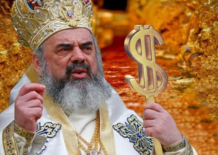 Patriarhul a învins! BOR nu mai ia bani de la buget, dar primește tot aurul de la Roșia Montană