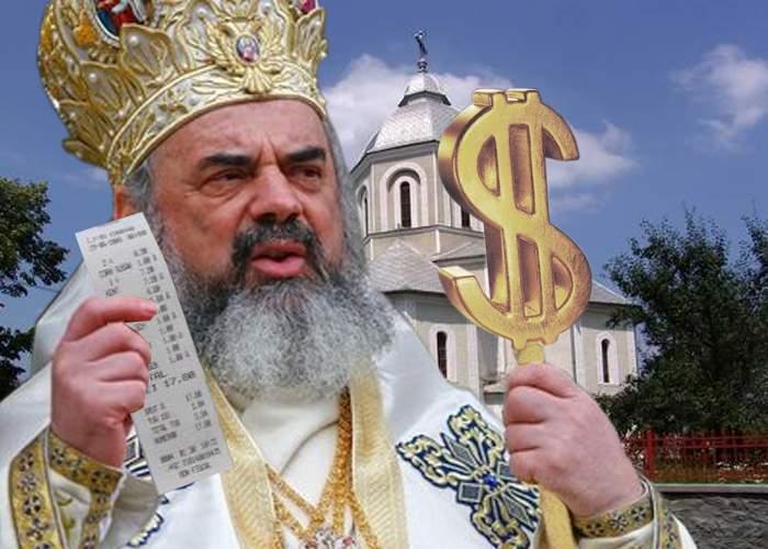 Se întâmplă și invers! Patriarhul Daniel a închis mai multe biserici care eliberau bon fiscal