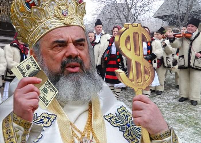 Reușită: colindătorii au strâns banii cu care să-l răsplătească pe Patriarh după ce-l vor colinda