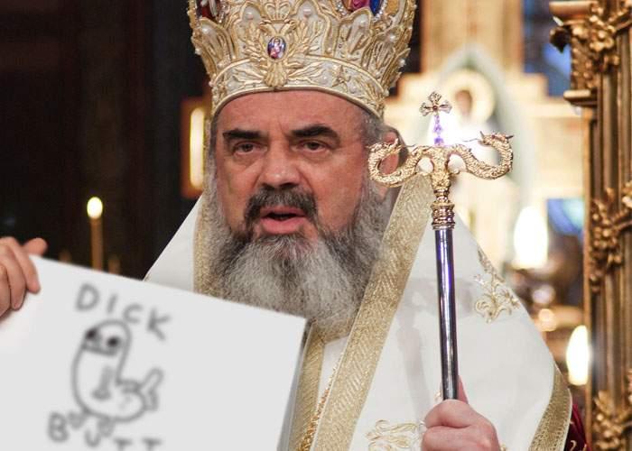 Auzind că la Charlie Hebdo vin acum multe donaţii, Patriarhul Daniel l-a desenat şi el pe Mahomed