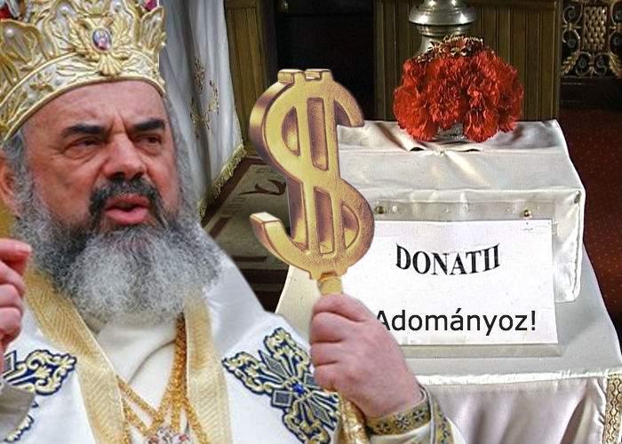 """BOR arată ce înseamnă toleranţa. În toate bisericile din Ardeal va scrie pe cutia milei """"Donaţi aici"""" şi în maghiară"""