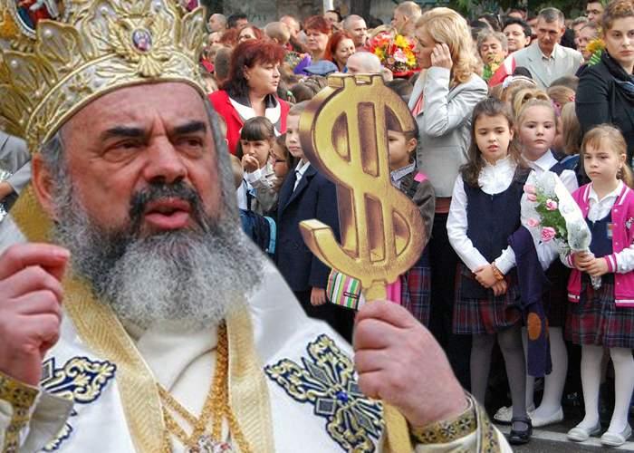 Două veşti bune pentru Patriarh: 99% din elevi înscrişi la religie şi dolarul a ajuns la 4 lei!