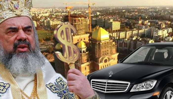 Patriarhul Daniel, propus ministru la Finanţe ca să-şi ia el cât vrea şi să nu mai ceară