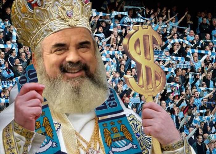 De ce-a pierdut Steaua? Patriarhul s-a rugat pentru City, că șeicii lor au mai mulți bani decât Gigi