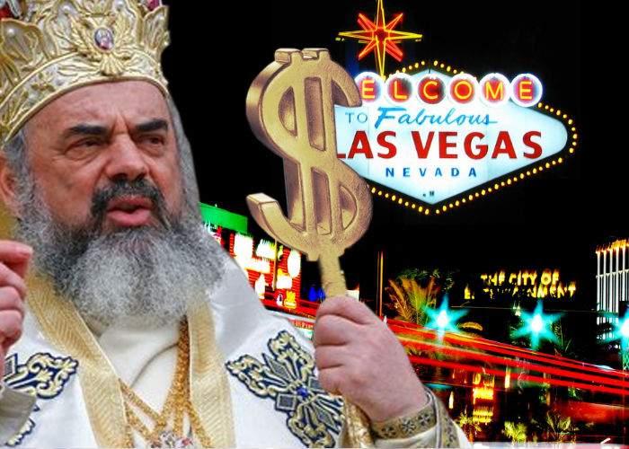 Teambuilding la BOR. Patriarhul a plecat cu preoţii în Las Vegas să înmulţească banii
