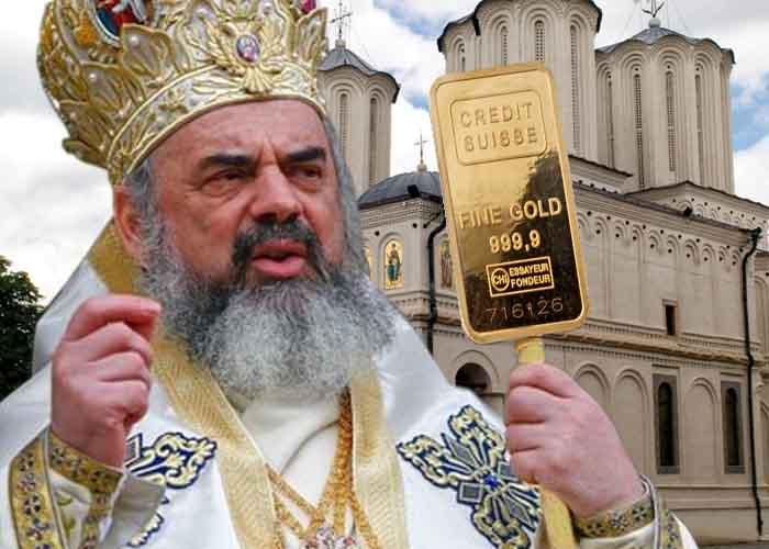 Minune dumnezeiască! Leii din conturile Patriarhului Daniel s-au prefăcut în franci elveţieni!