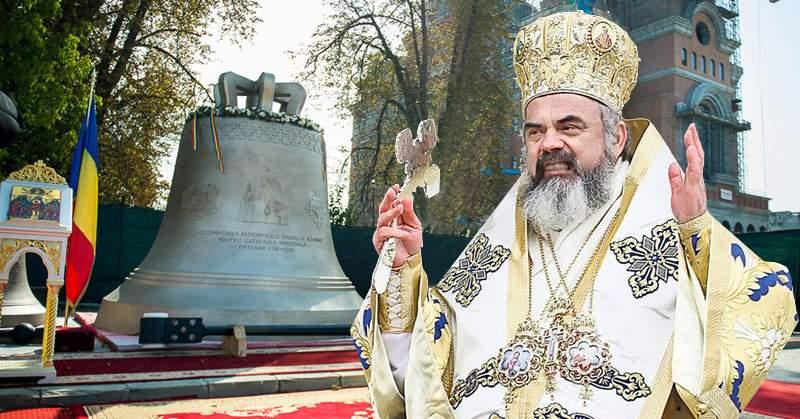 "Clopotul Catedralei bate ""bang-bang"" în loc de ""bani-bani""! Patriarhul e scandalizat"