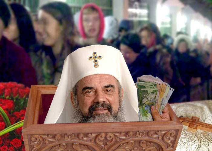 Şoc pentru credincioşii care au pus bani în racla Sf. Parascheva. În raclă era Patriarhul Daniel!