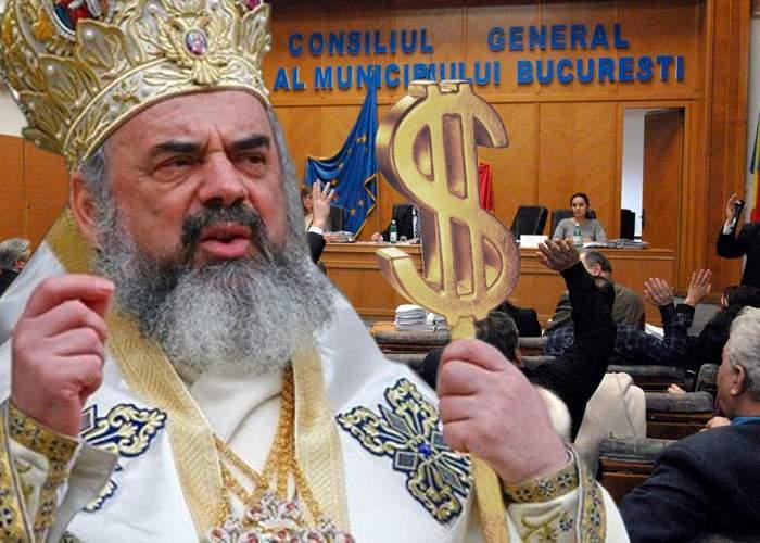 Patriarhul sprijină bucureştenii: Cât timp n-aveţi primar puteţi da şpăgile la orice biserică!