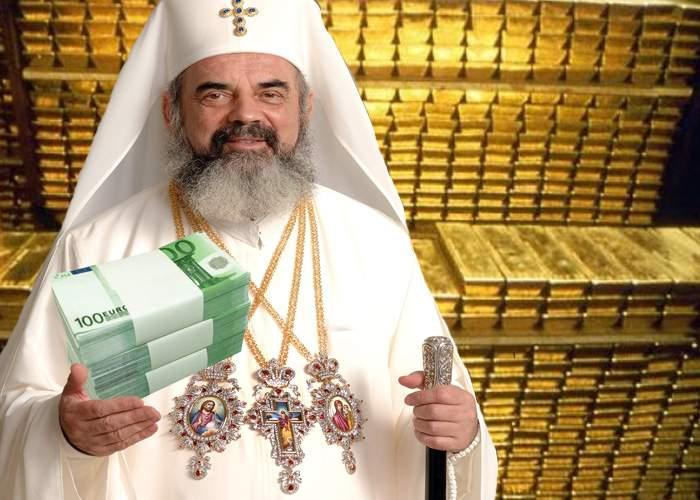 Patriarhul Daniel serbează Valentine's Day în camera de Tezaur de la BNR: Iubirea mea sunt banii!