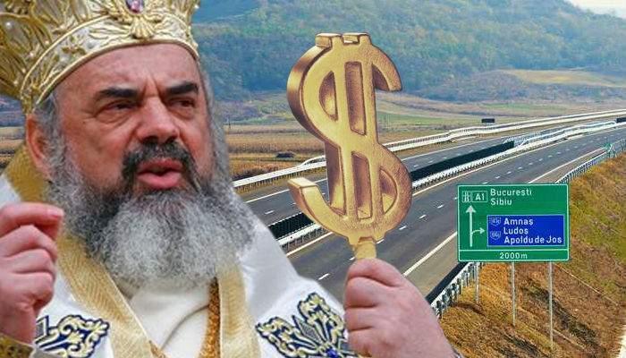 Ca să poată aduce clopotul uriaş la Bucureşti, Patriarhul face autostrada Piteşti-Sibiu pe banii lui
