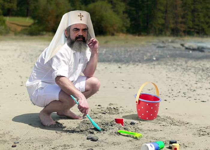 Ingenios! Patriarhul și-a luat lopățica și găletușa și a plecat la Roșia Montană, să sape după aur