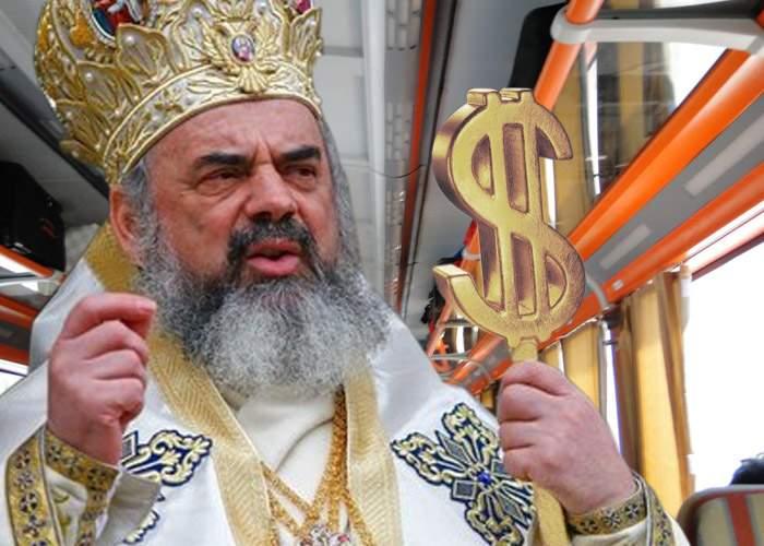 """Patriarhul Daniel: """"Naşii CFR trebuie înlocuiţi cu preoţi, singurii care pot lua bani fără chitanţă"""""""