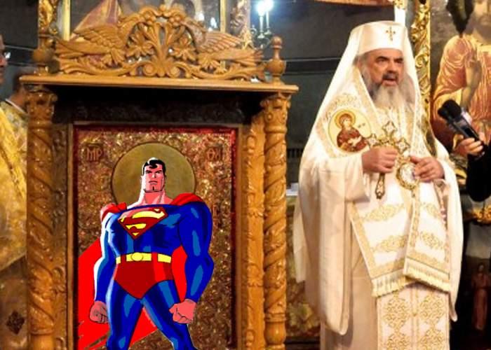 Patriarhul Daniel vrea icoane cu supereroi, pentru protecţia preoţilor din biserici