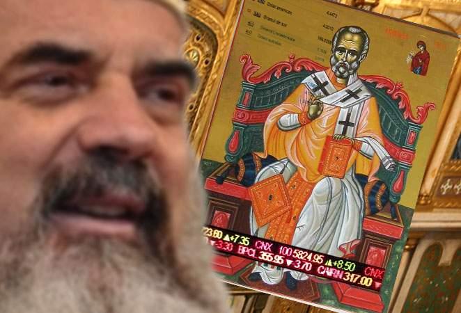 Secretul a ieşit la iveală! Patriarhul are o icoană miraculoasă care afişează cursul valutar