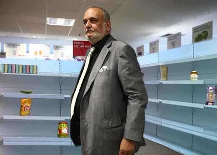 Din cauza rafturilor goale, magazinele Mic.ro amintesc de alimentările de dinainte de '89