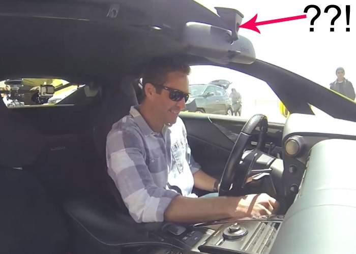 Eroare fatală! Actorul din Fast and Furious nu avea iconiţe la retrovizoare